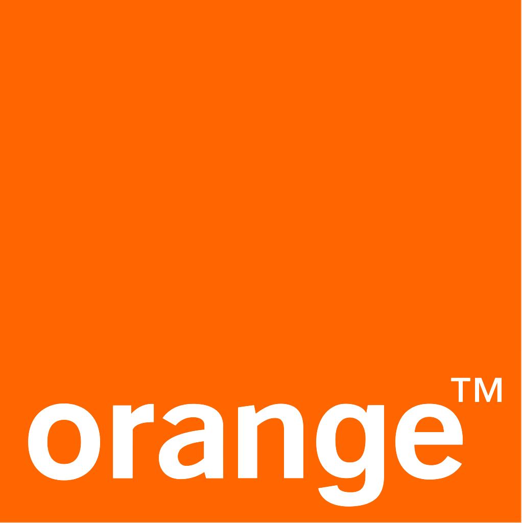 Logo marque ORANGE Haute Définition
